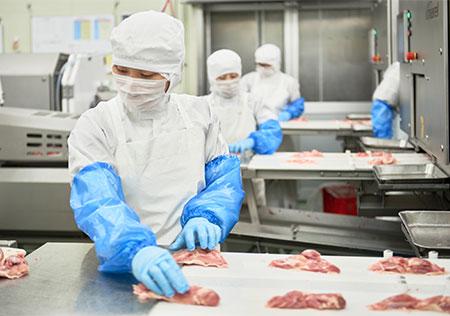 食肉の加工